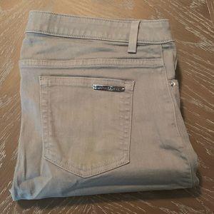 Sea Foam Michael Kors skinny jeans